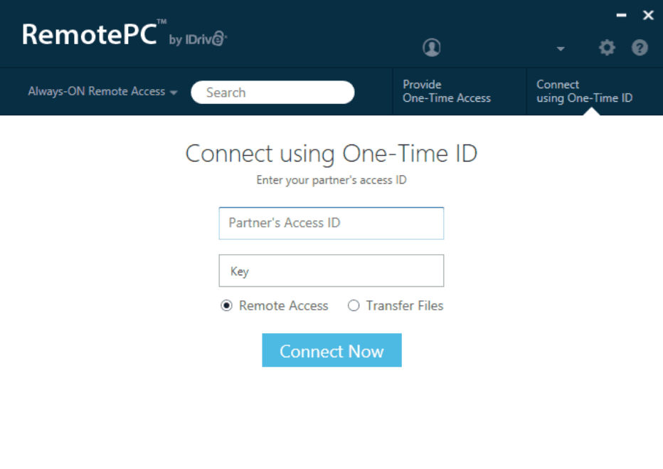 RemotePC free remote desktop solution