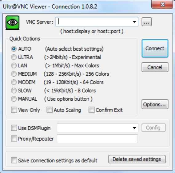 UltraVNC remote desktop viewer tool