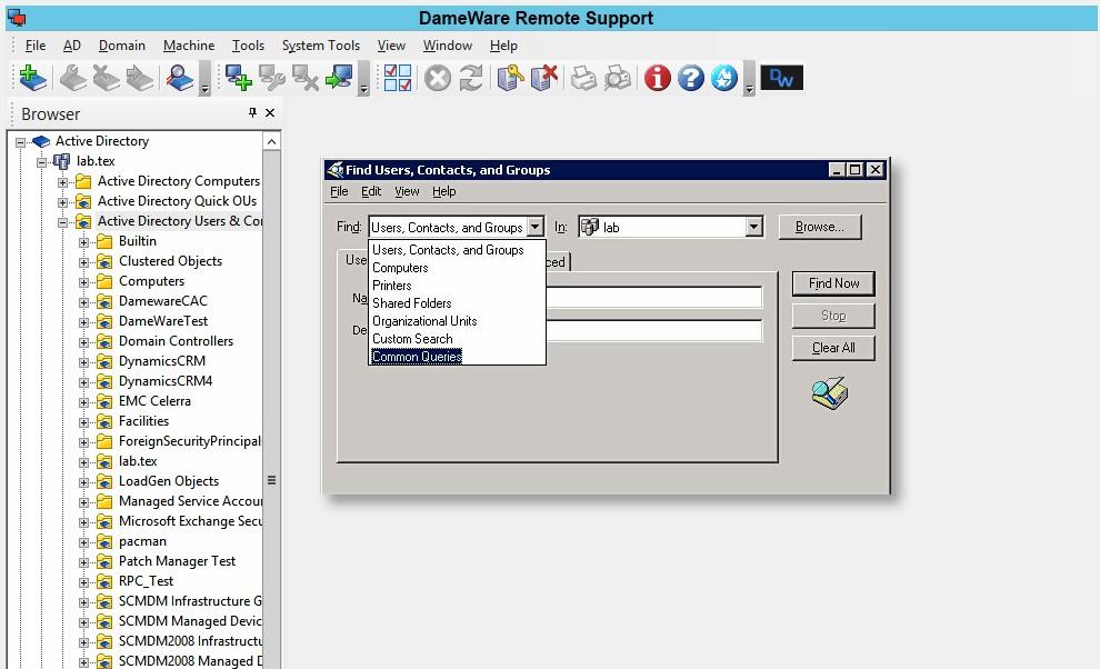 Dameware Remote Support