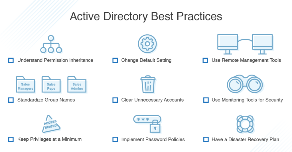 active-directory-best-practices-checklist
