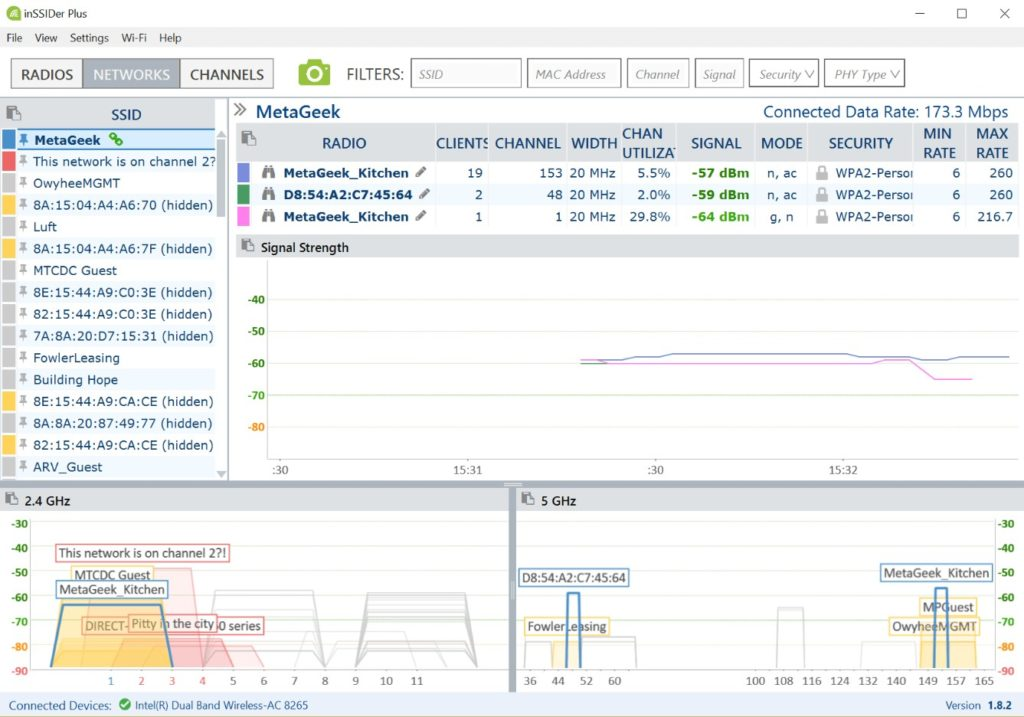 Best 9 Wi-Fi Analyzer Software 2019 for Your Network - DNSstuff
