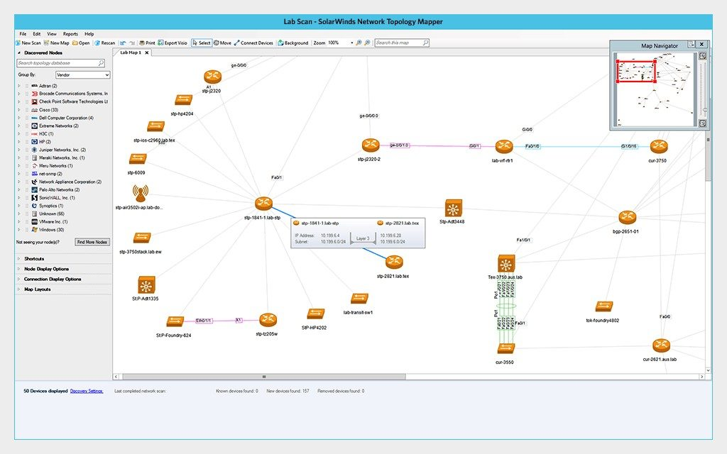 Network Topology Mapper