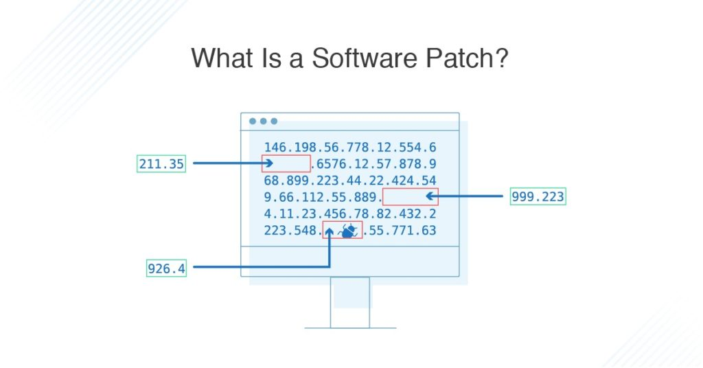 what is software patch
