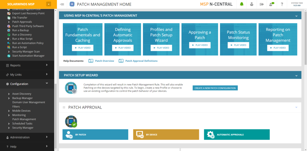 NCentral_Patch_Management