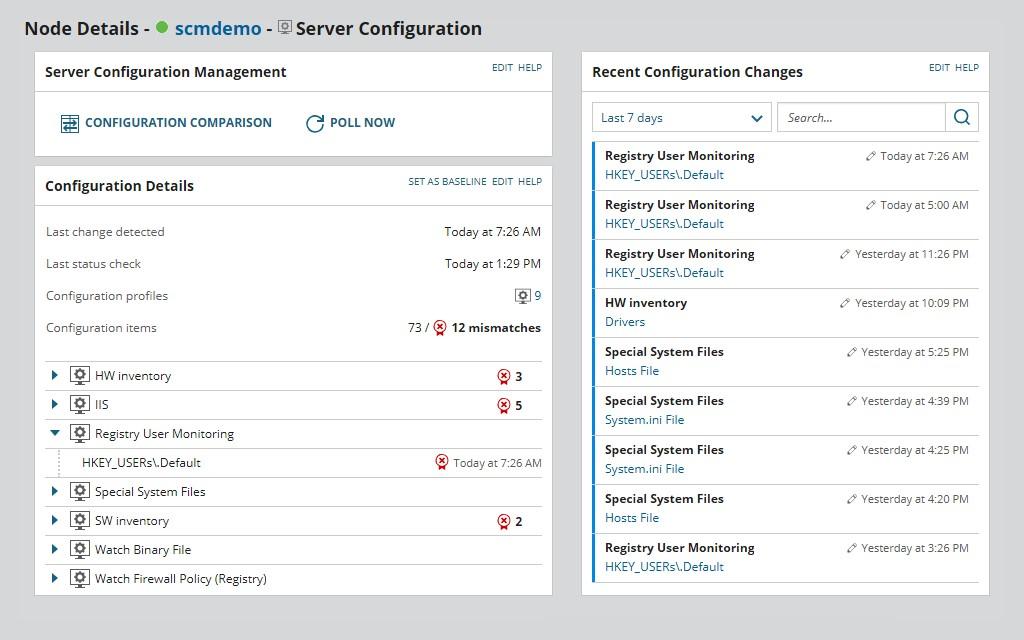 SolarWinds Server Performance & Configuration Bundle