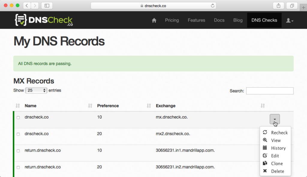 dns-check-report-with-mx-records-passing
