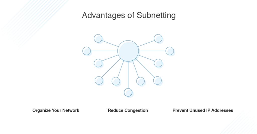 subnetting advantages