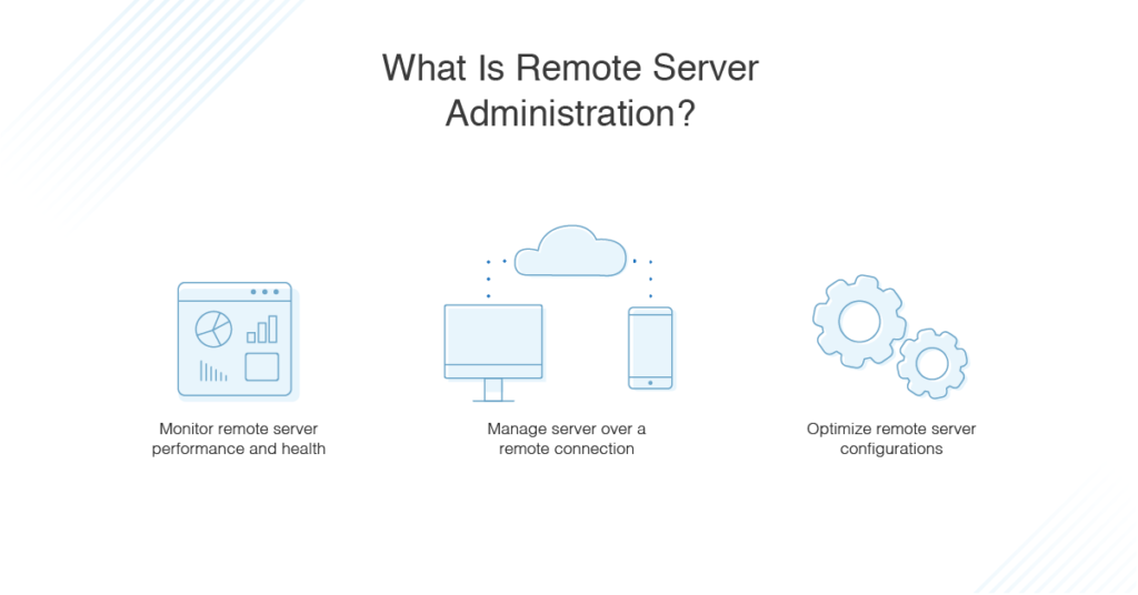 what is remote server administration