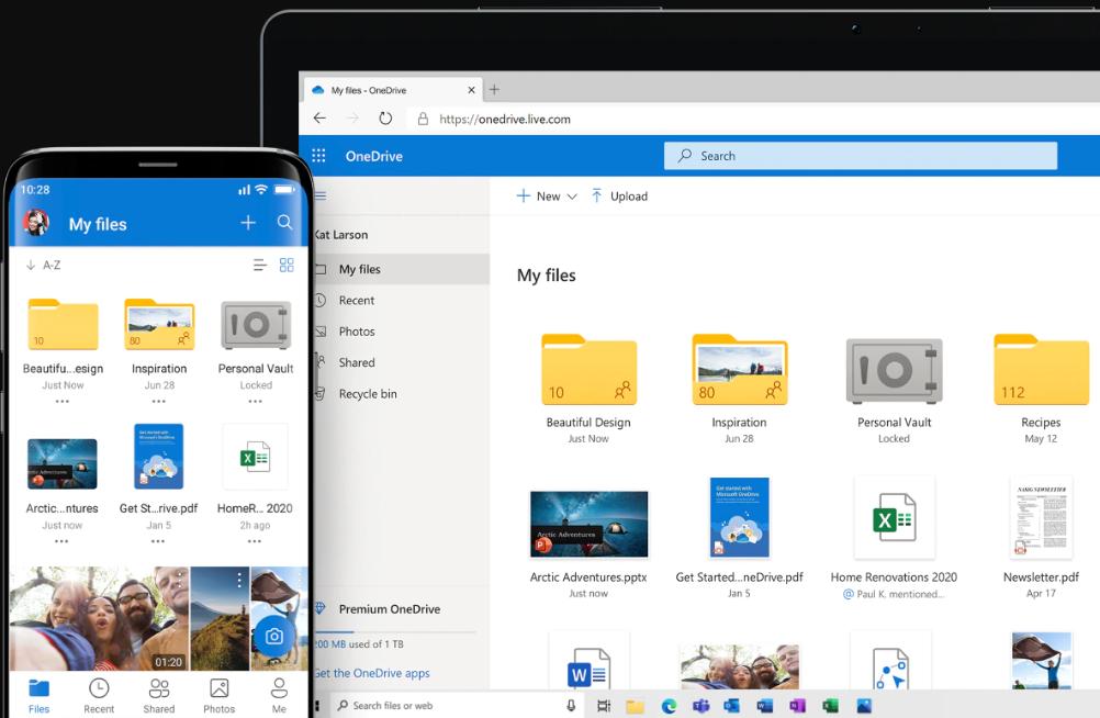 best remote work software -Microsoft OneDrive